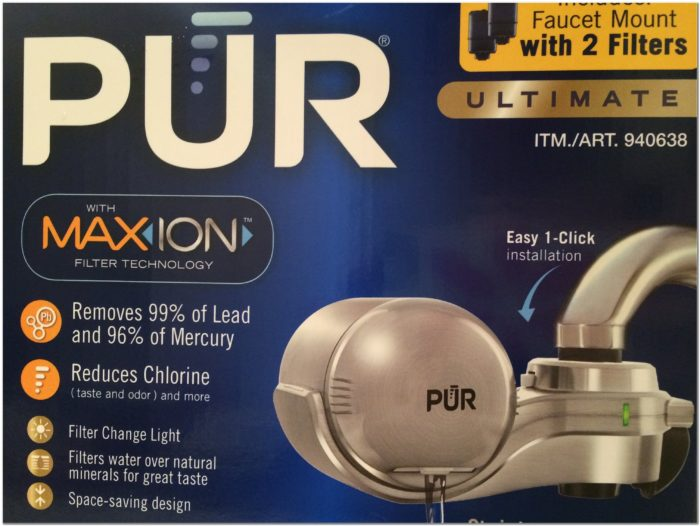 Install Pur Water Filter Faucet Mount