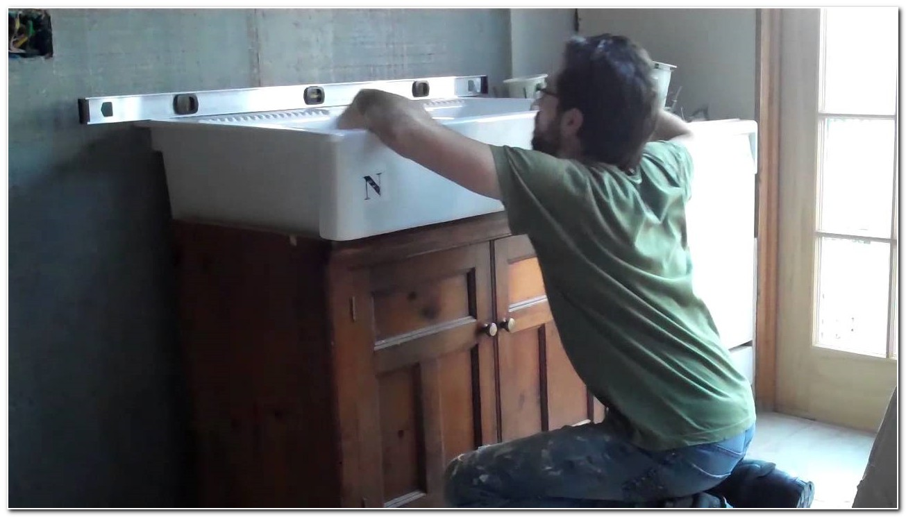 Installing A Farm Sink Video