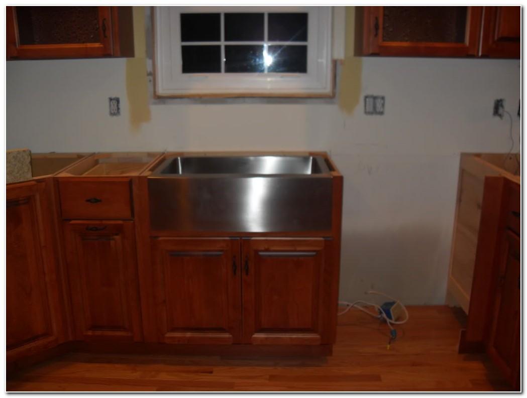 Installing A Kraus Farmhouse Sink