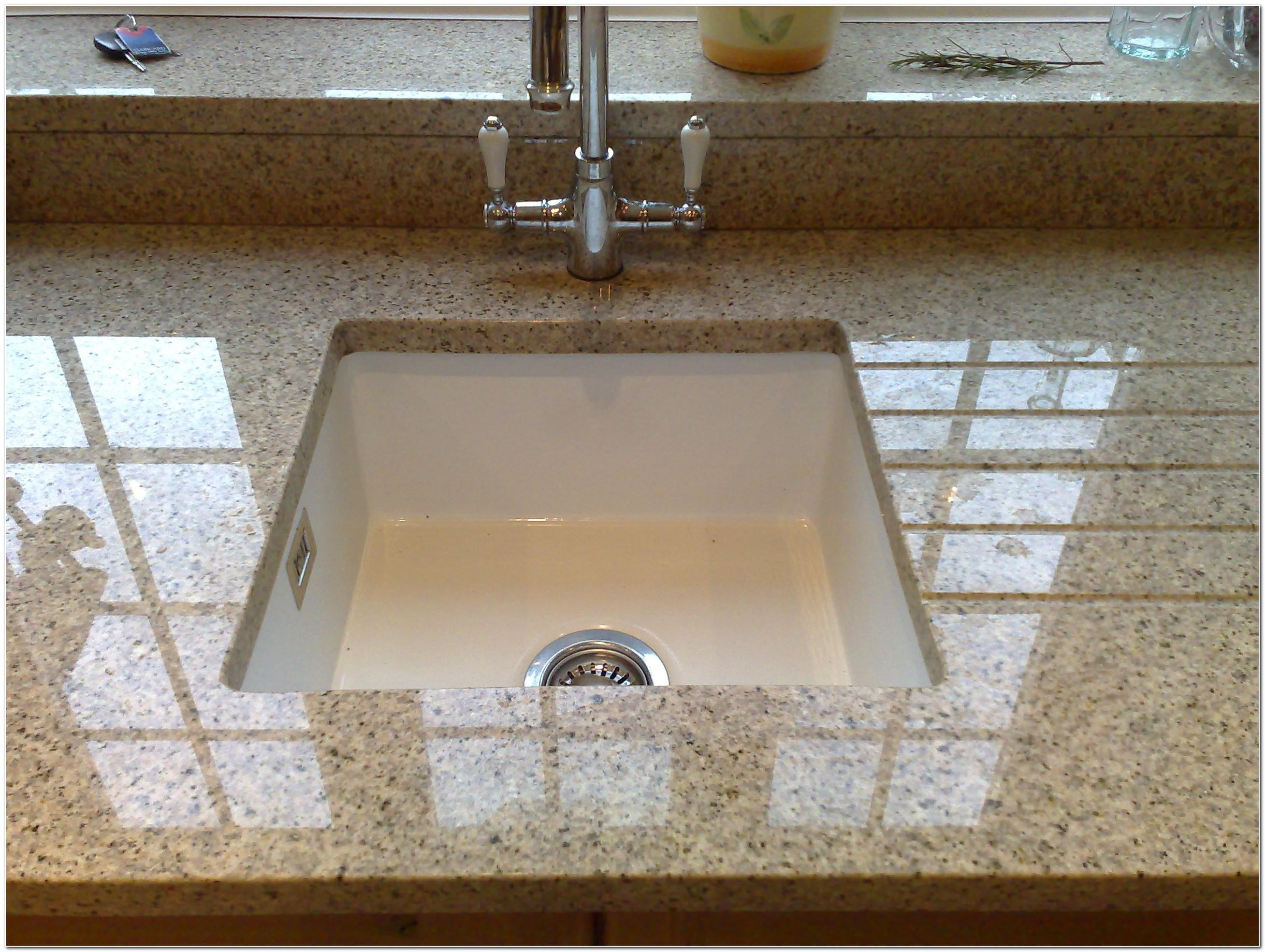 Installing Drop In Sink On Granite