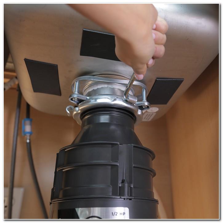 Installing Garbage Disposal Sink Flange
