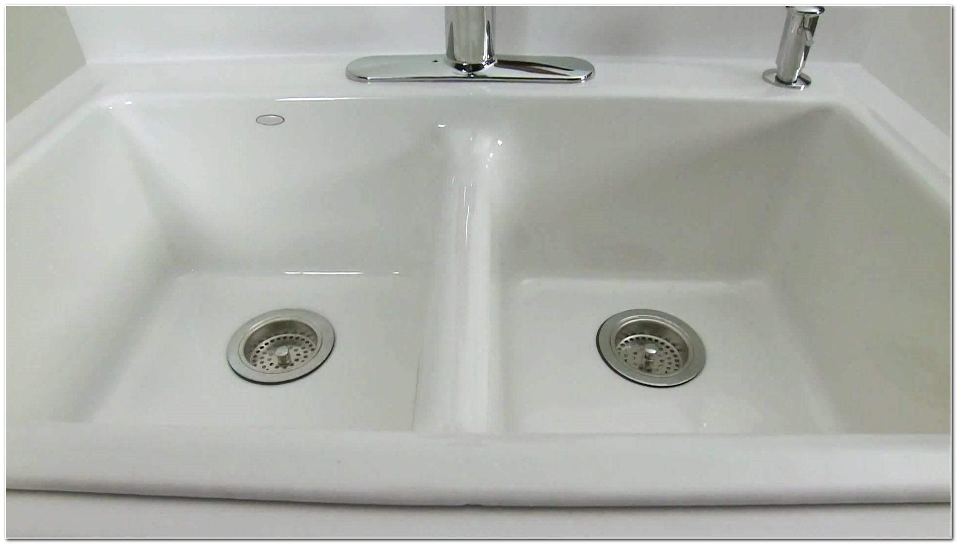 Installing Kohler Cast Iron Kitchen Sink