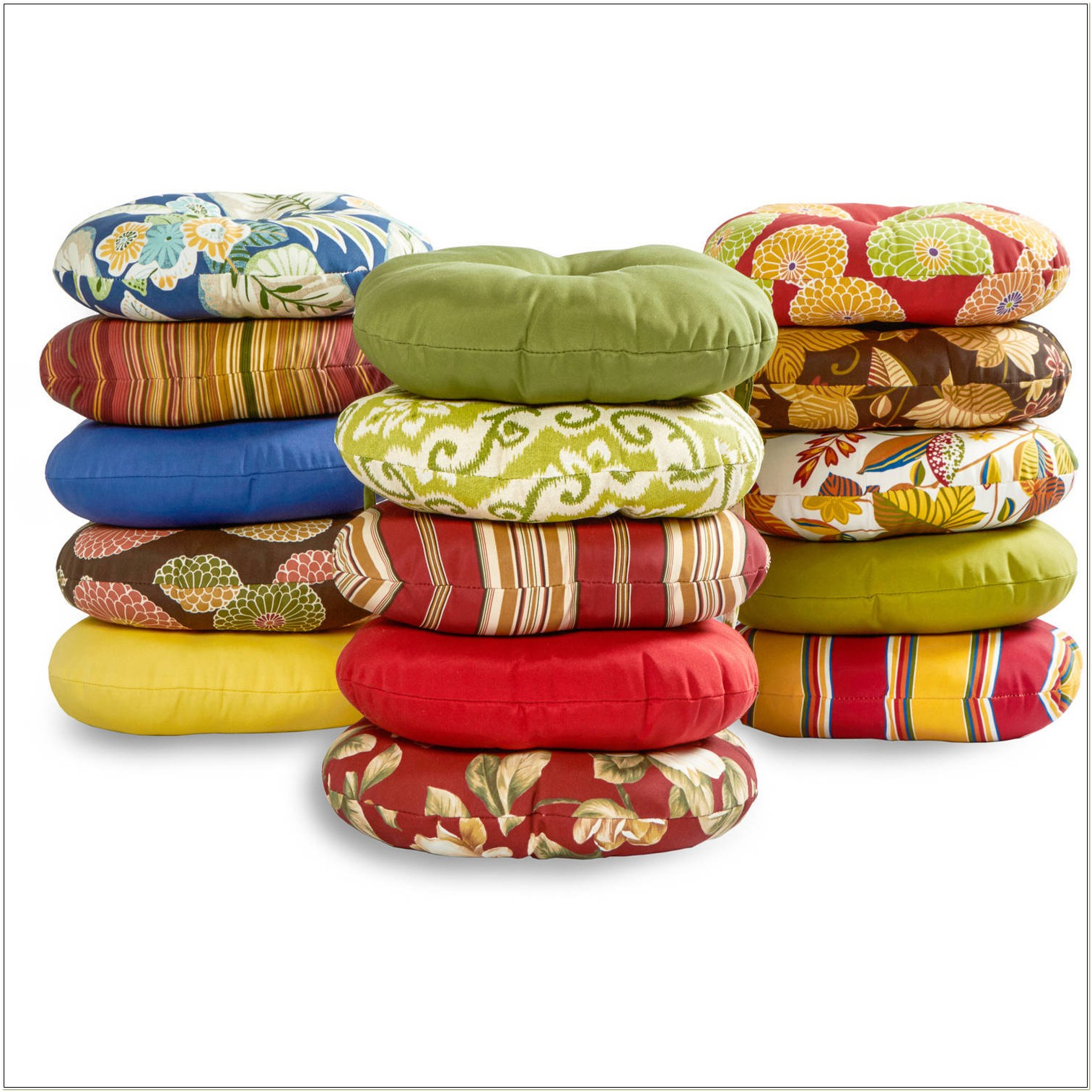 15 Round Bistro Chair Cushions