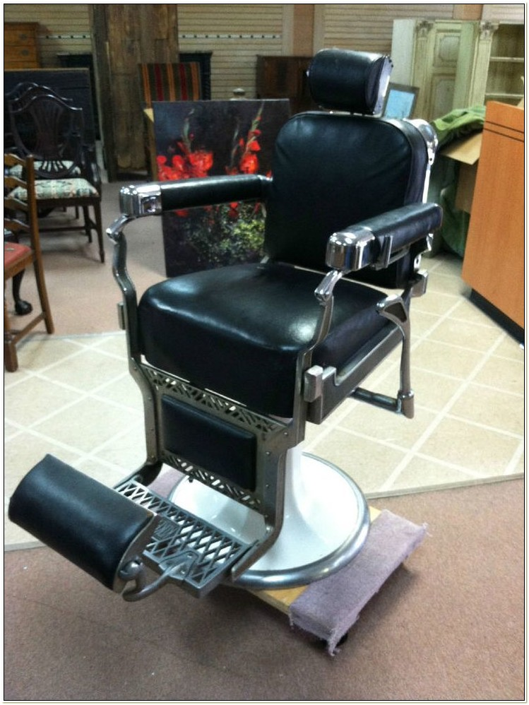 1920 Koken Barber Chair