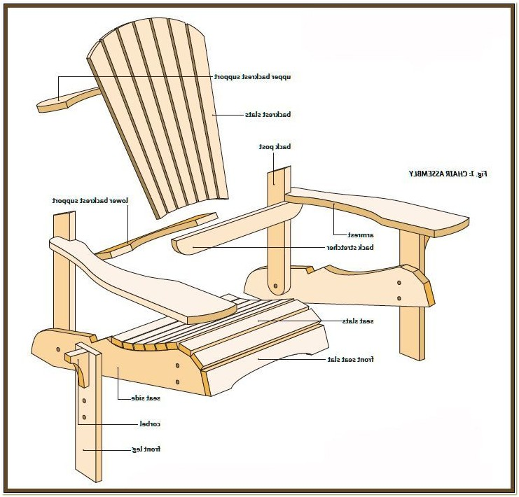 2 Seater Adirondack Chair Plans