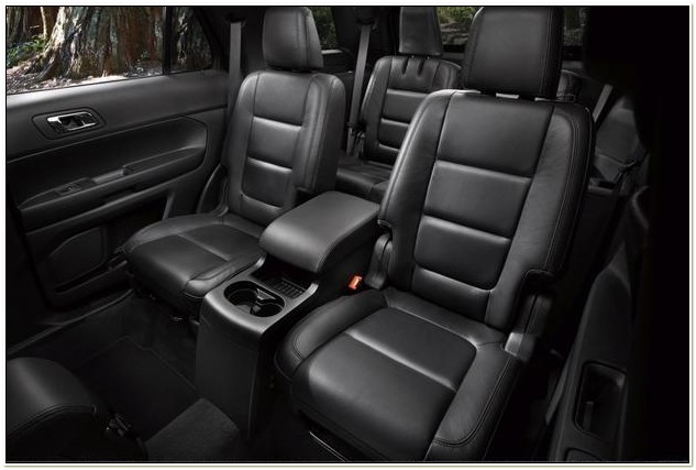 2013 Ford Explorer With Captain Seats