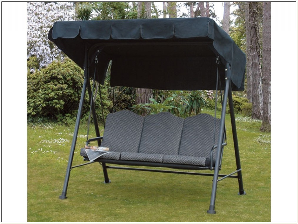 3 Seater Swing Chair Canopy