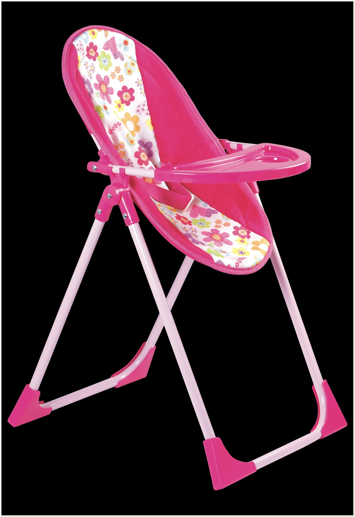4 In 1 Doll High Chair Set