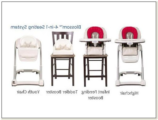 4 In 1 Highchair Graco
