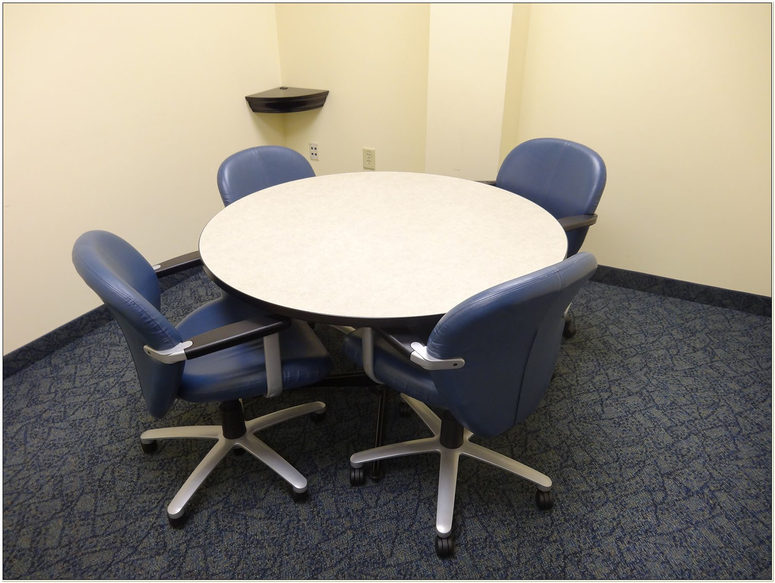 48 Round Conference Table And Chairs
