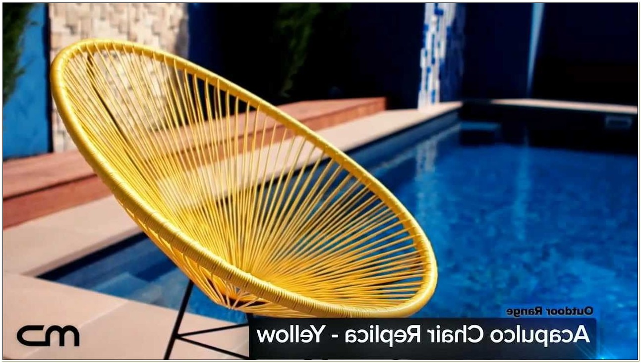 Acapulco Lounge Chair Replica Outdoor Wicker