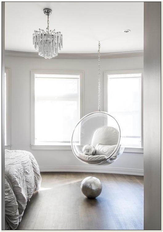 Acrylic Hanging Bubble Chair