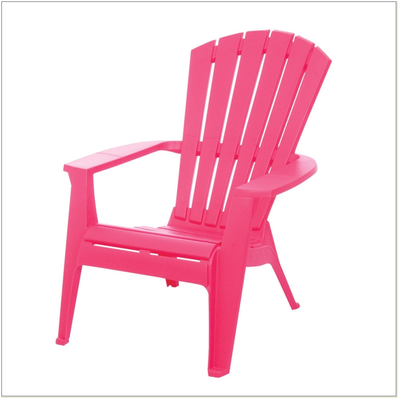 Adams Adirondack Stacking Chair In Pink