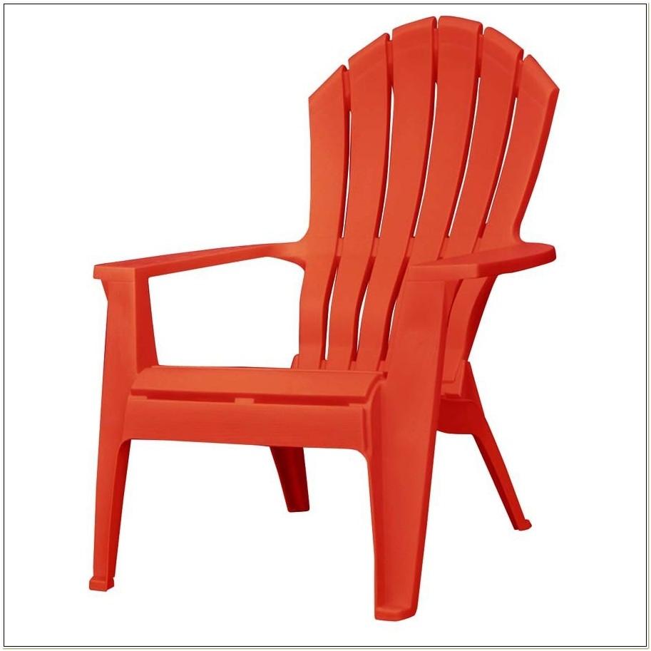 Adams Adirondack Stacking Chair Red