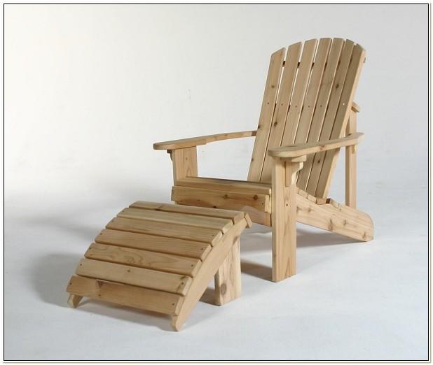 Adirondack Chair Footrest Plans