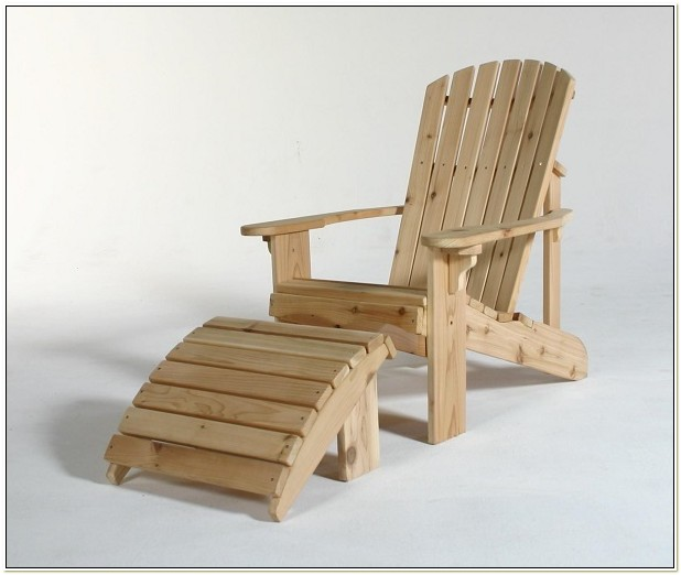Adirondack Chair Footstool Plans