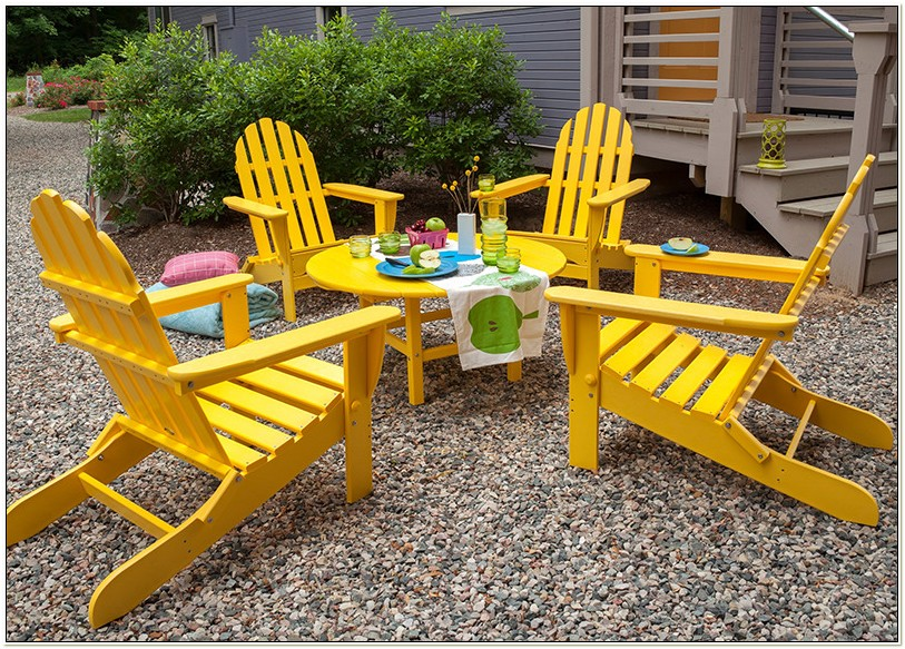 Adirondack Chair Made From Recycled Plastic