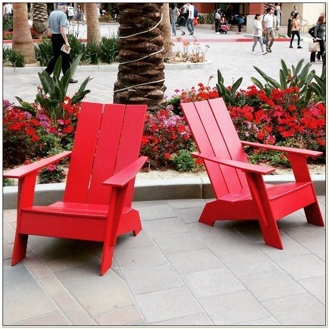 Adirondack Chairs Recycled Milk Jugs