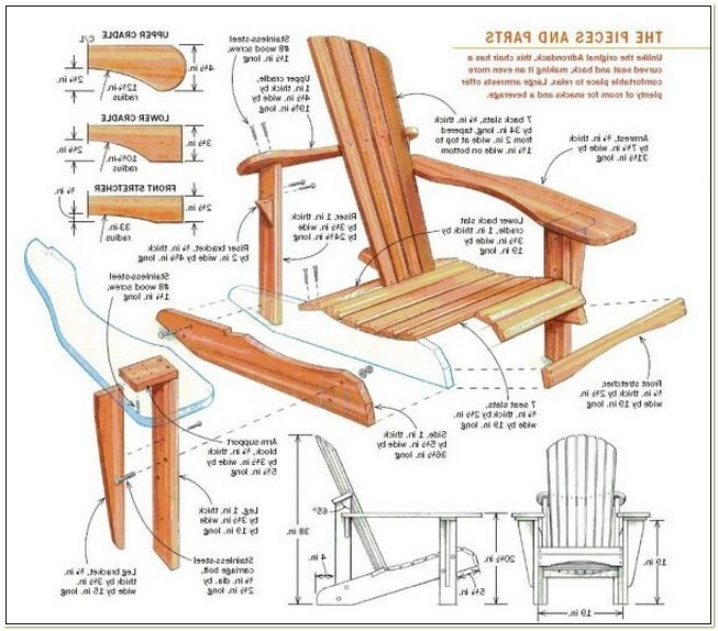 Adirondack Glider Chair Plans Free