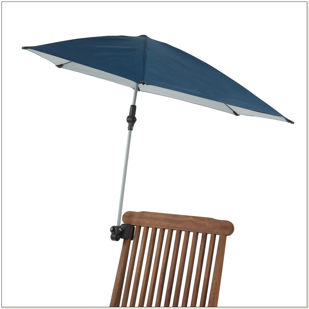 Adjustable Clamp On Chair Umbrella