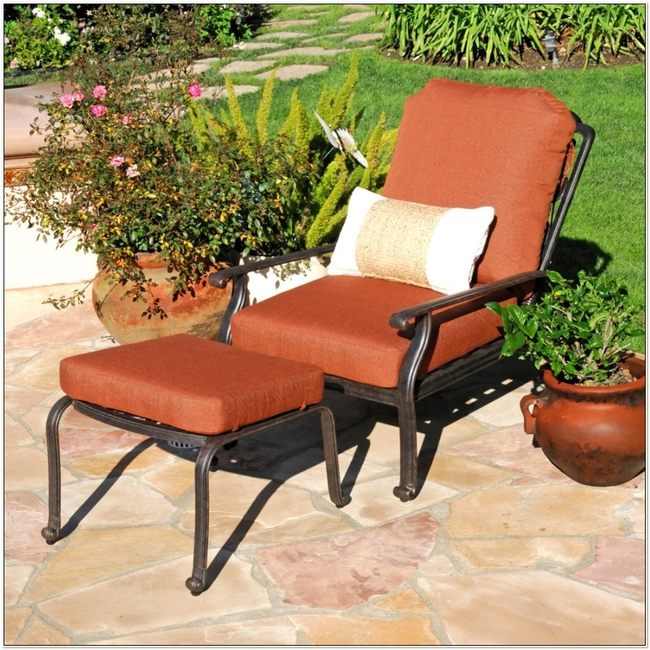Adjustable Patio Chairs With Ottoman