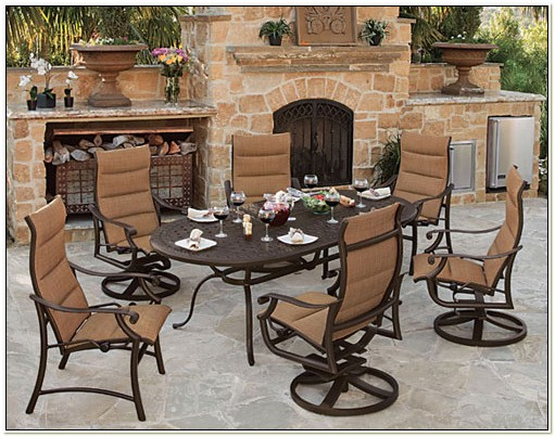 Aluminum Sling Patio Set