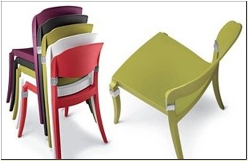 Aluminum Stackable Patio Chairs
