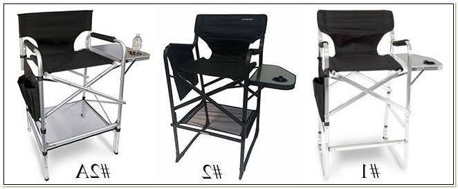 Aluminum Tall Directors Chair