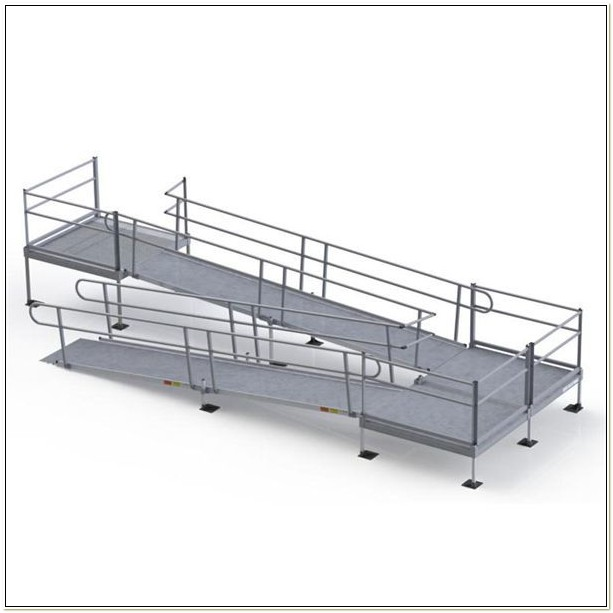 Aluminum Wheelchair Ramp Kits