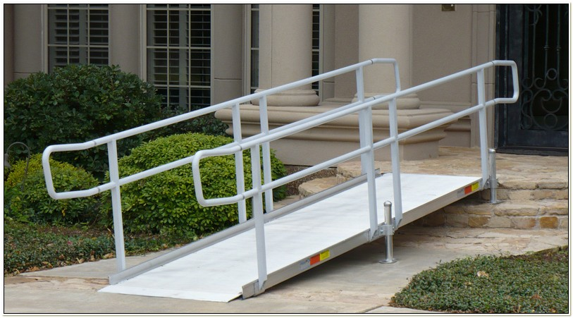 Aluminum Wheelchair Ramps Portable