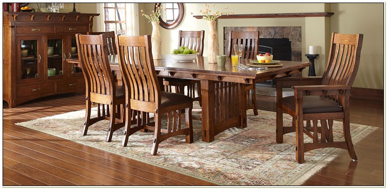 Amish Dining Room Chairs