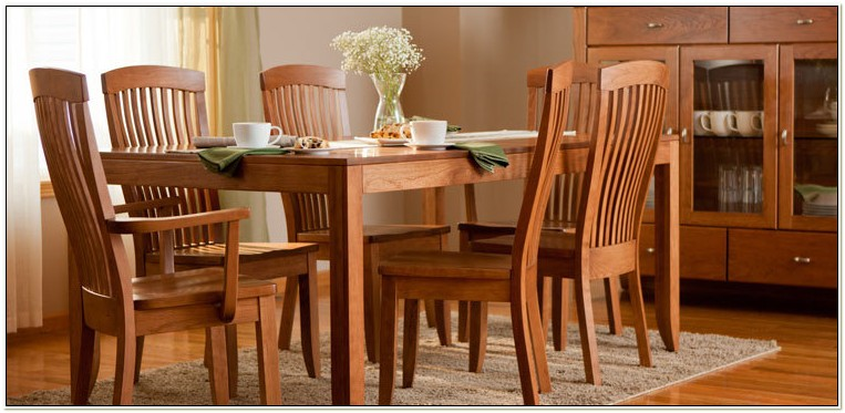 Amish Made Dining Room Chairs