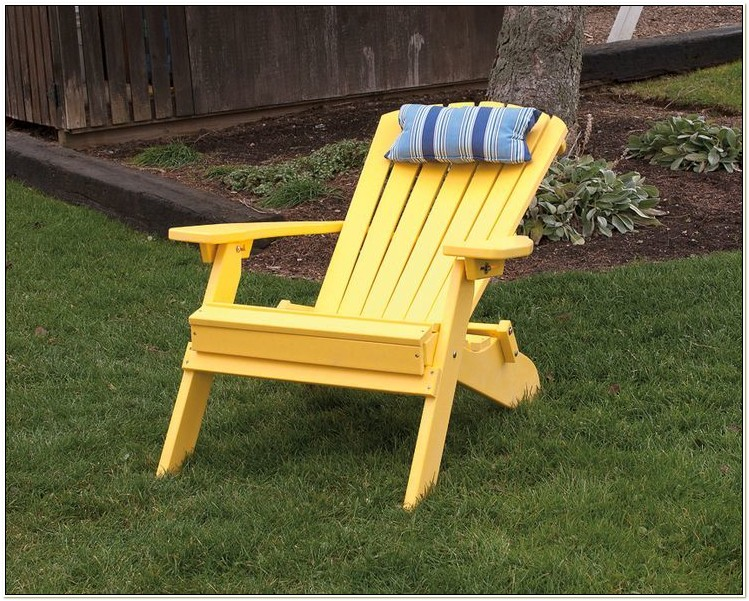 Amish Made Polywood Adirondack Chairs