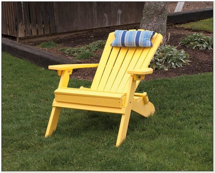 Amish Made Polywood Adirondack Chairs