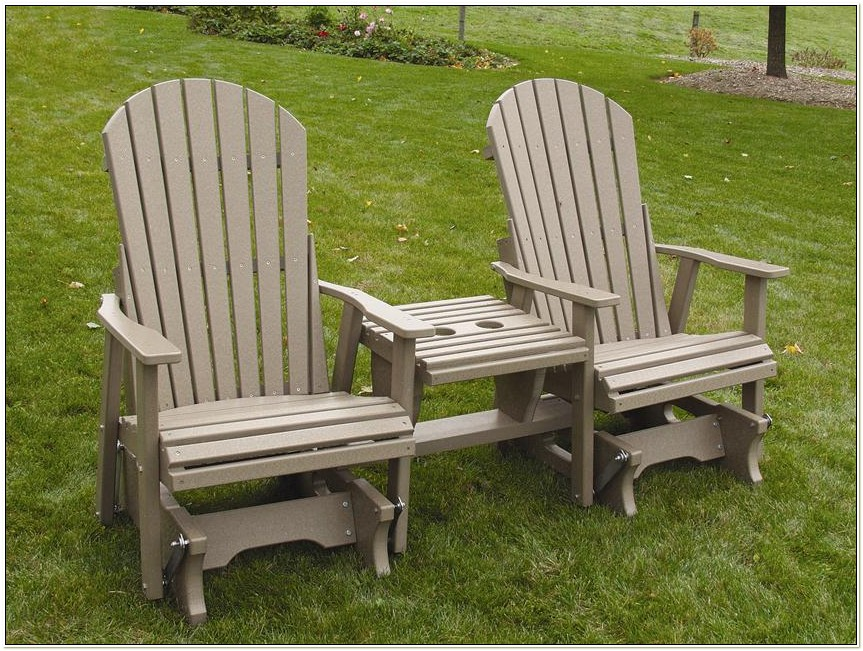 Amish Outdoor Wood Rocking Chairs