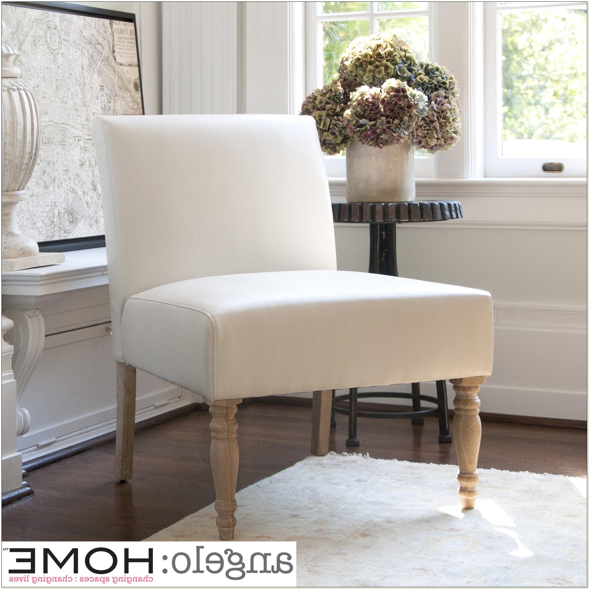 Angelo Home Bradstreet Marzipan Slipper Chair