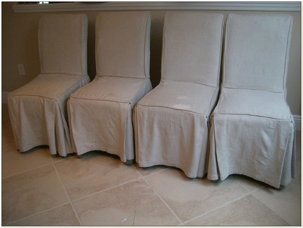Animal Print Parson Chair Covers
