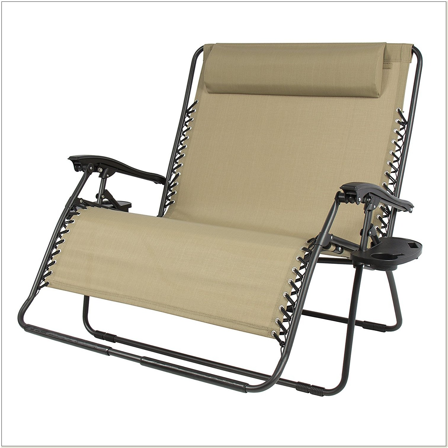 Anti Gravity Lounge Chair With Cup Holder