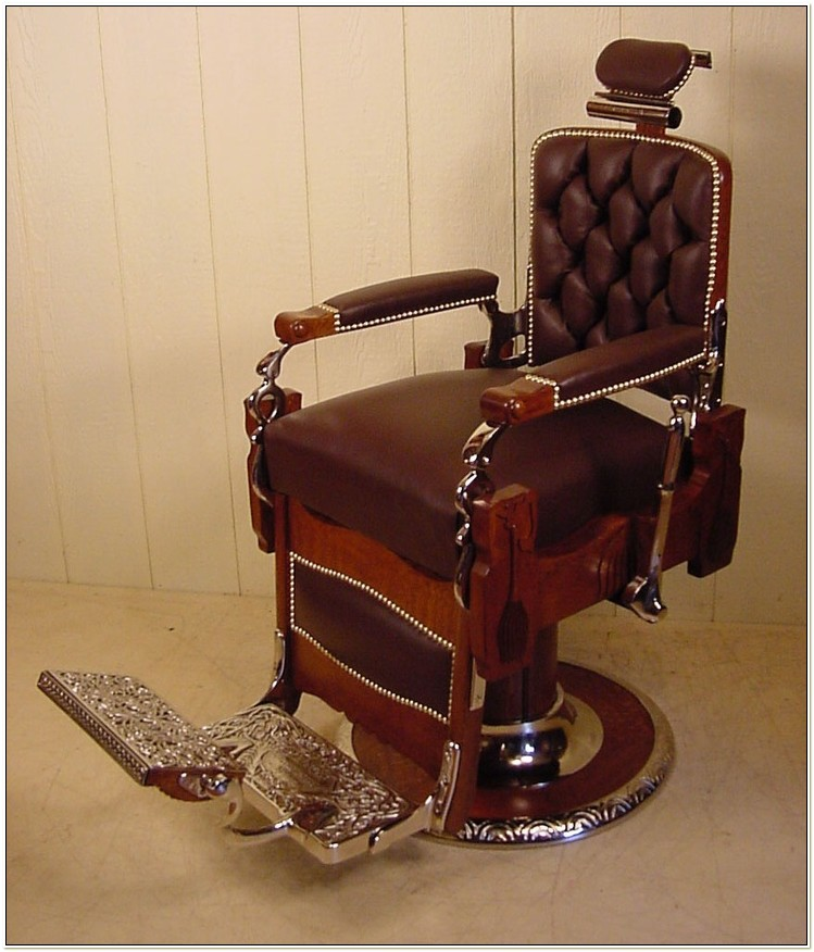 Antique Appraisal Koken Barber Chair