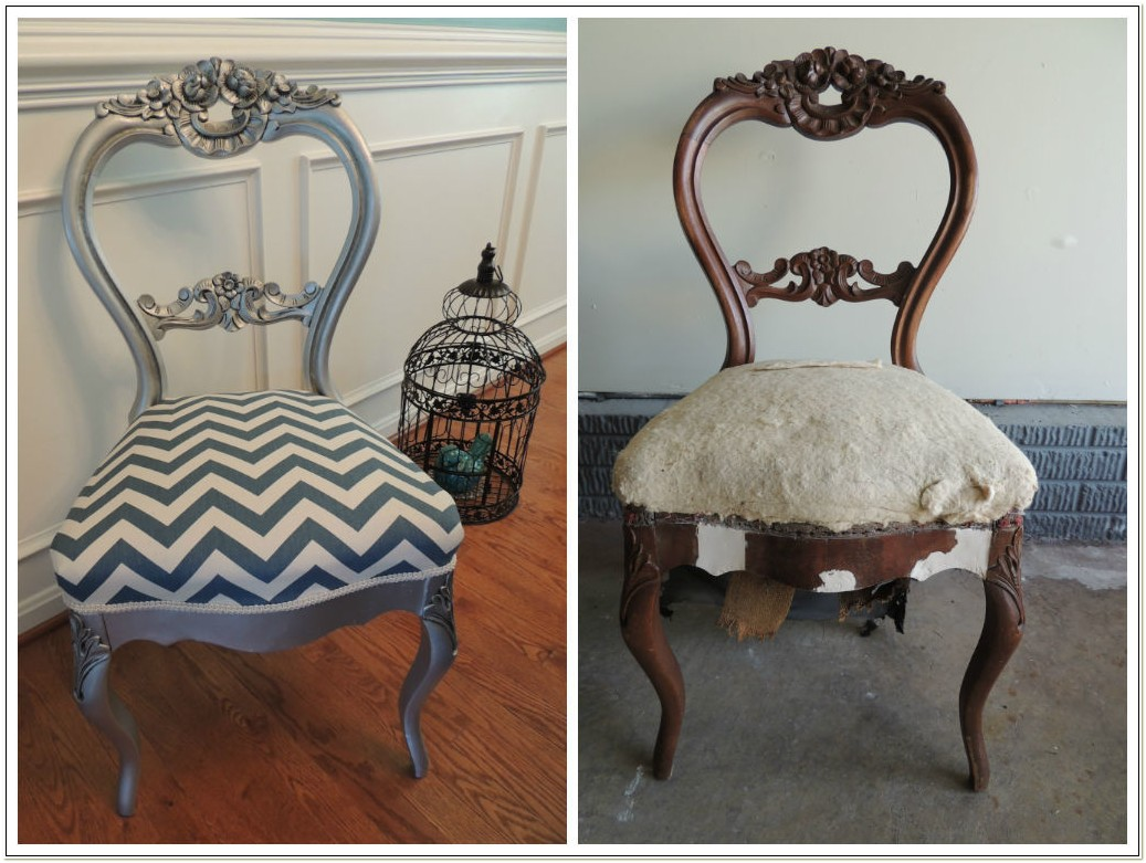 Antique Balloon Back Parlor Chairs