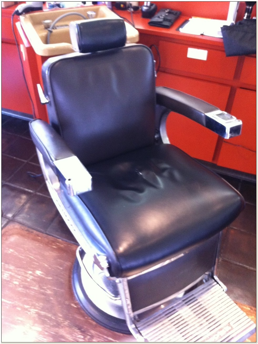 Antique Belmont Barber Chair Value