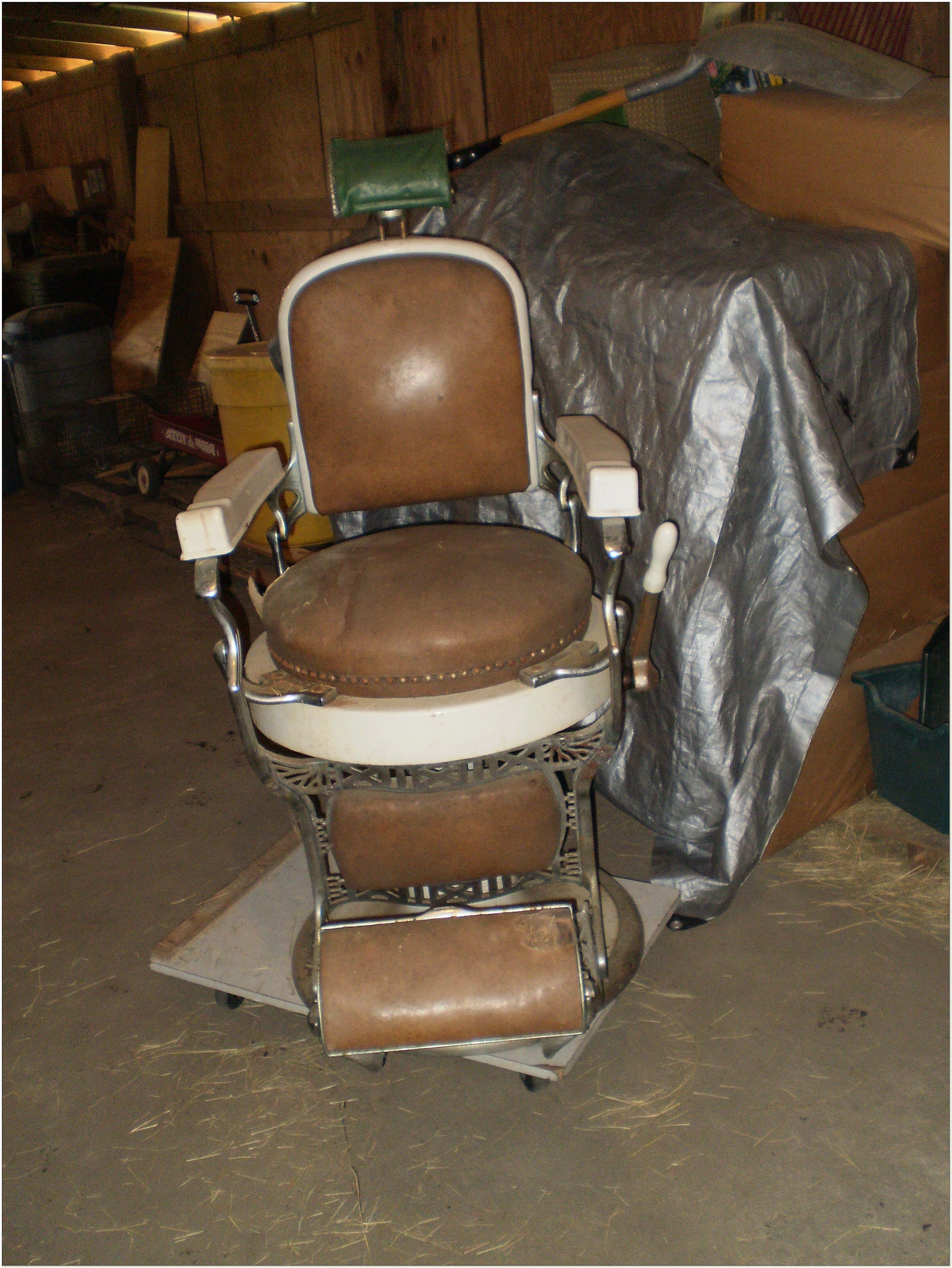 Antique Koken Barber Chair Values