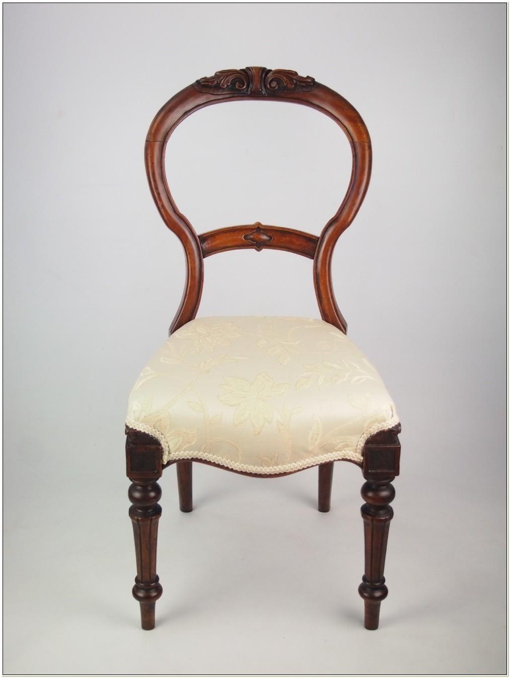 Antique Mahogany Balloon Back Chairs