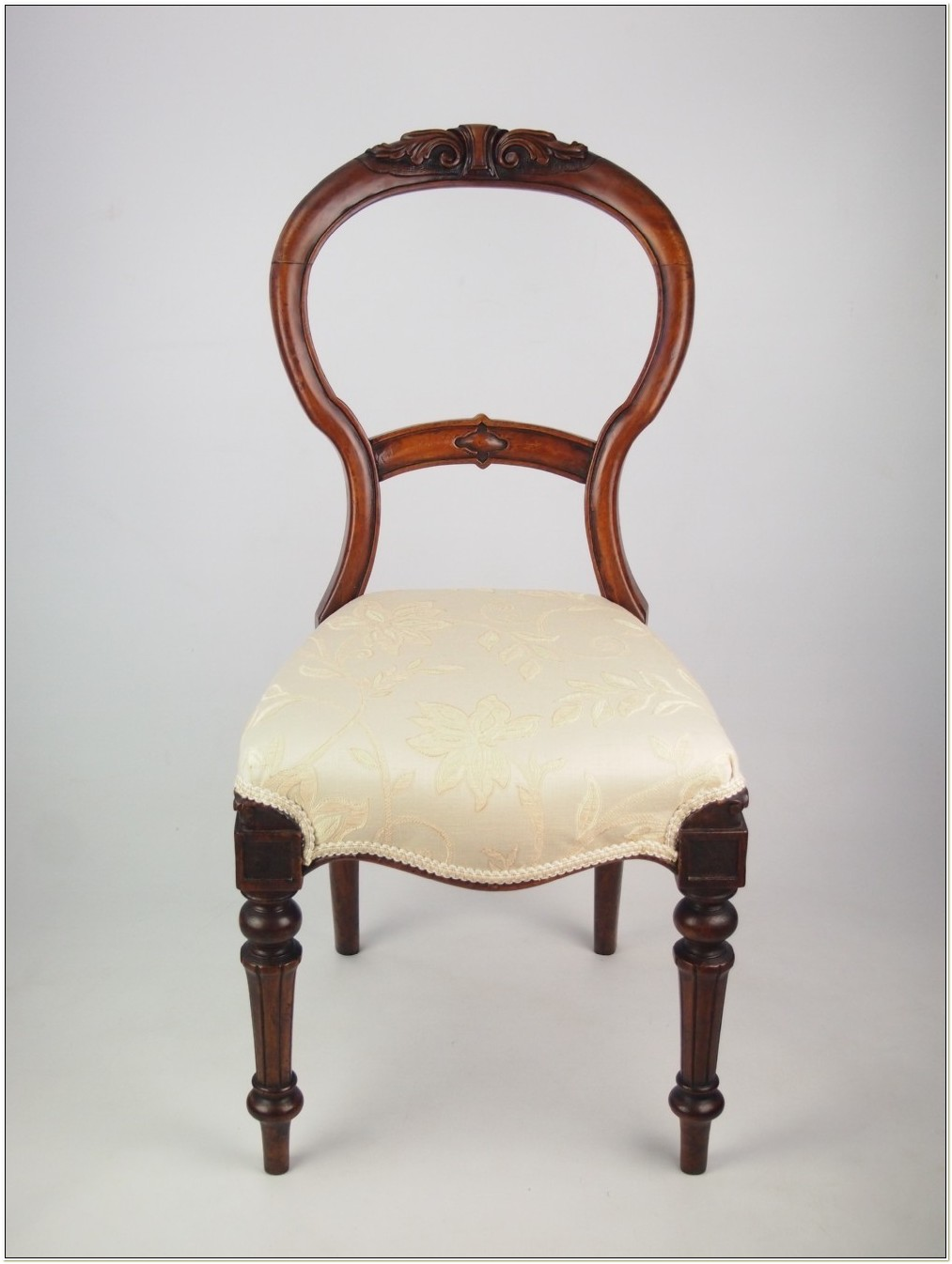 Antique Victorian Balloon Back Chairs