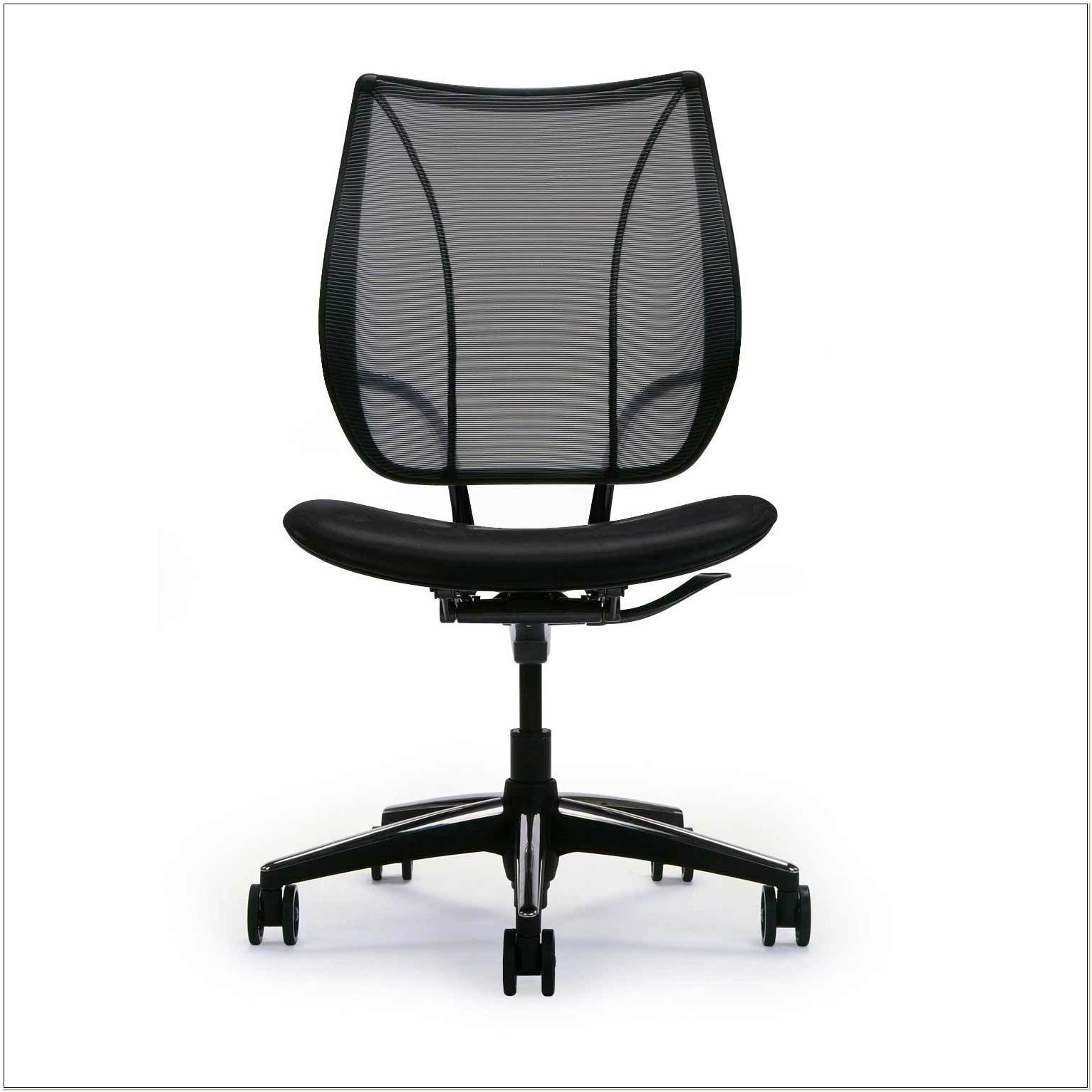 Armless Ergonomic Office Chair
