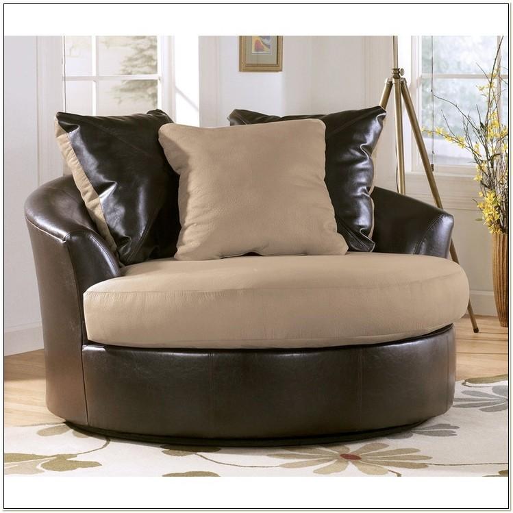 Ashley Furniture Oversized Swivel Chair