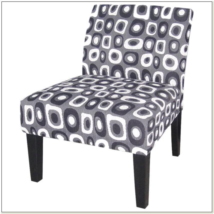 Ave Six Laguna Fabric Slipper Chair