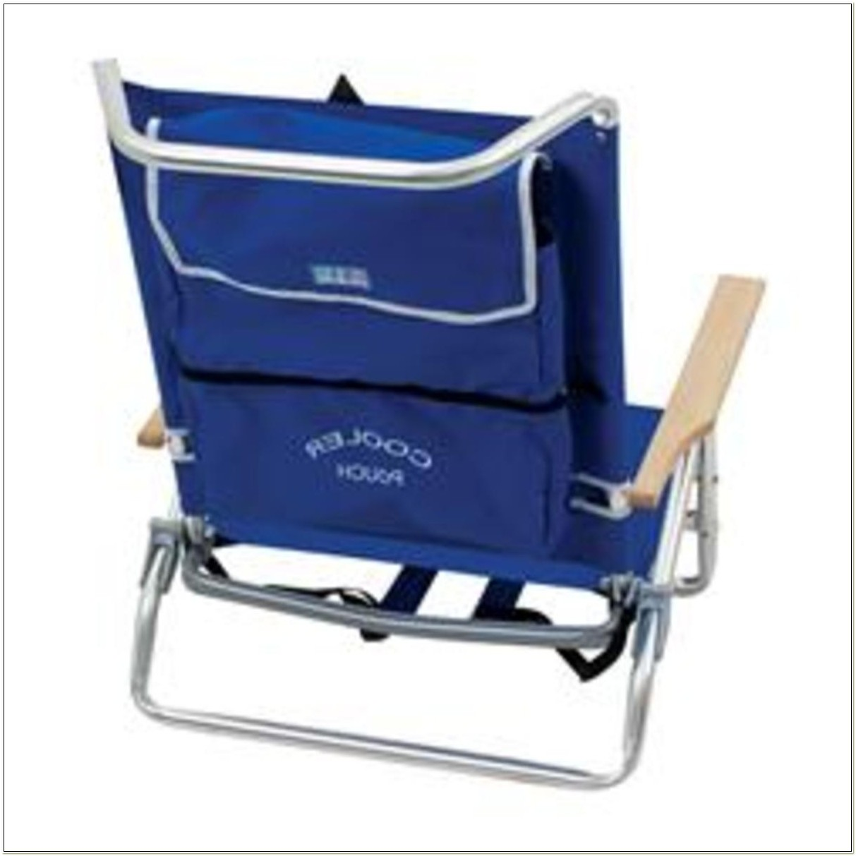 Backpack Beach Chair With Cooler Pouch