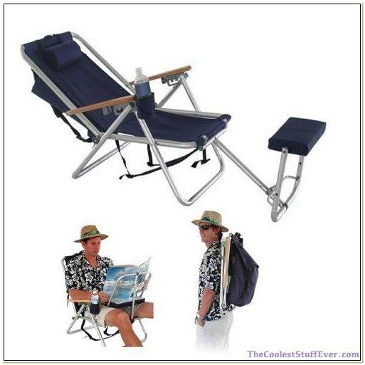 Backpack Beach Chairs With Footrest