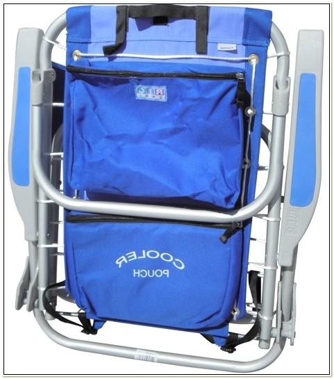 Backpack Cooler Beach Chair